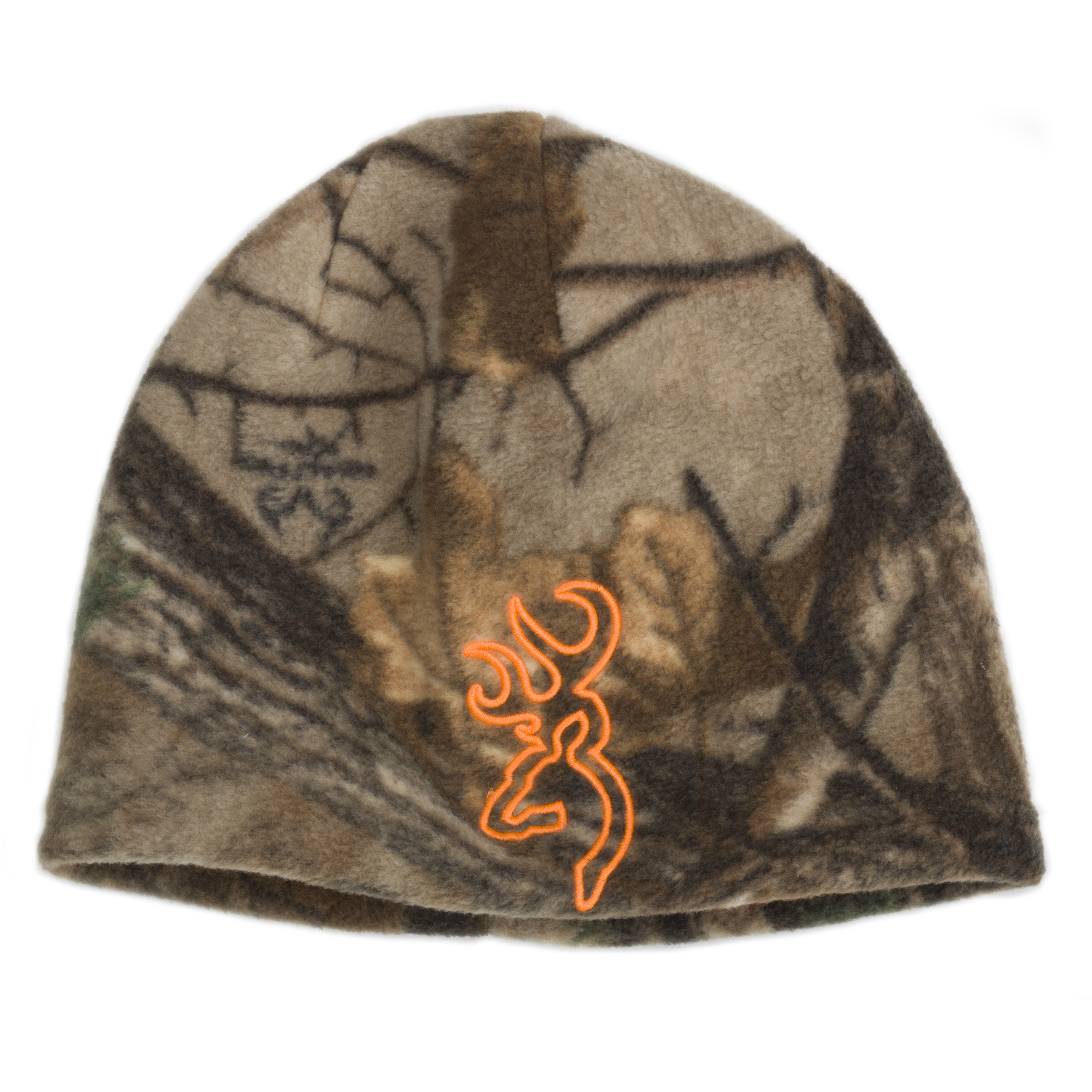 18f257d1cf5 Details about Browning All Season Reversible Beanie Realtree  Orange-308511011