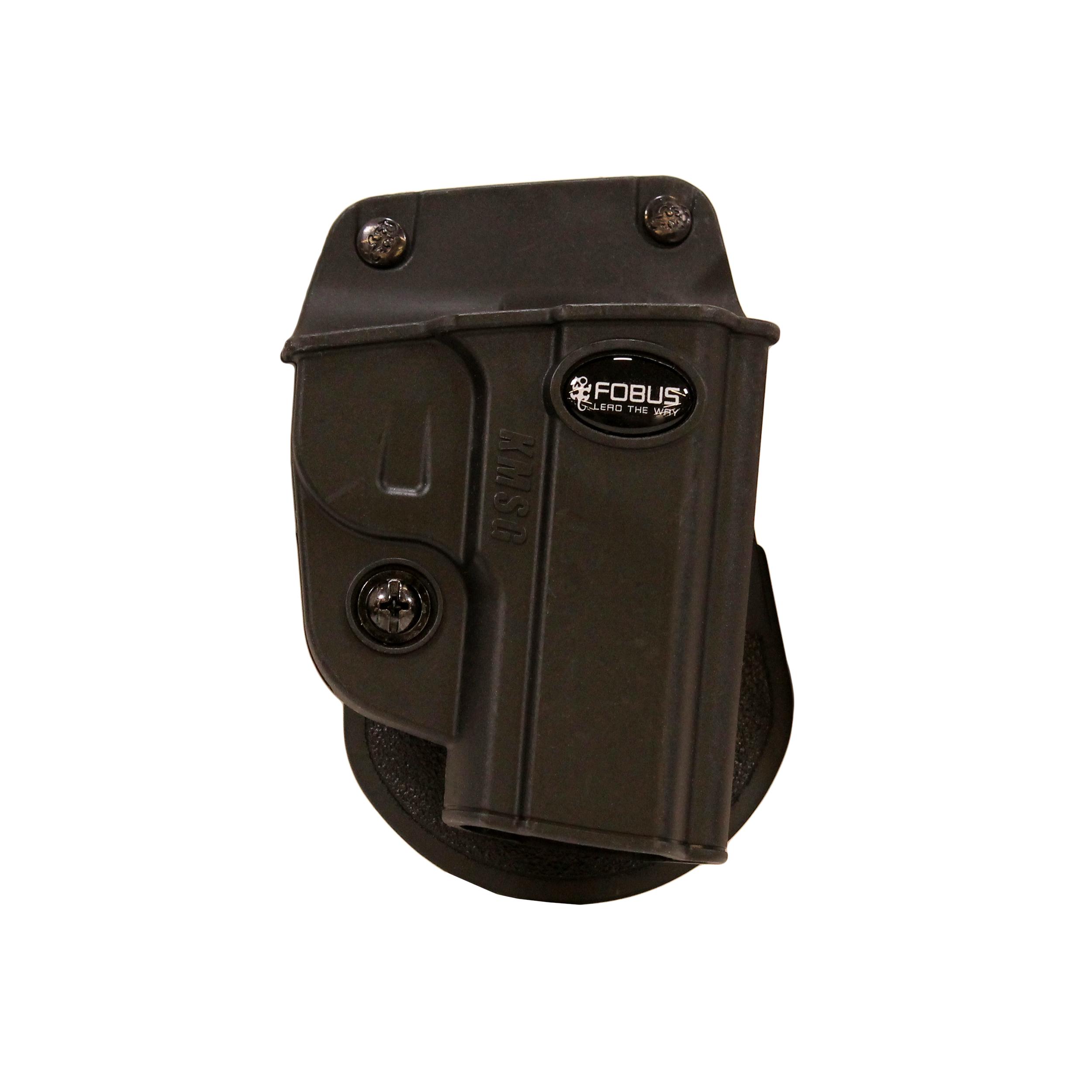 Fobus KMSG Evolution Paddle Holster Right Hand Black Holsters, Belts