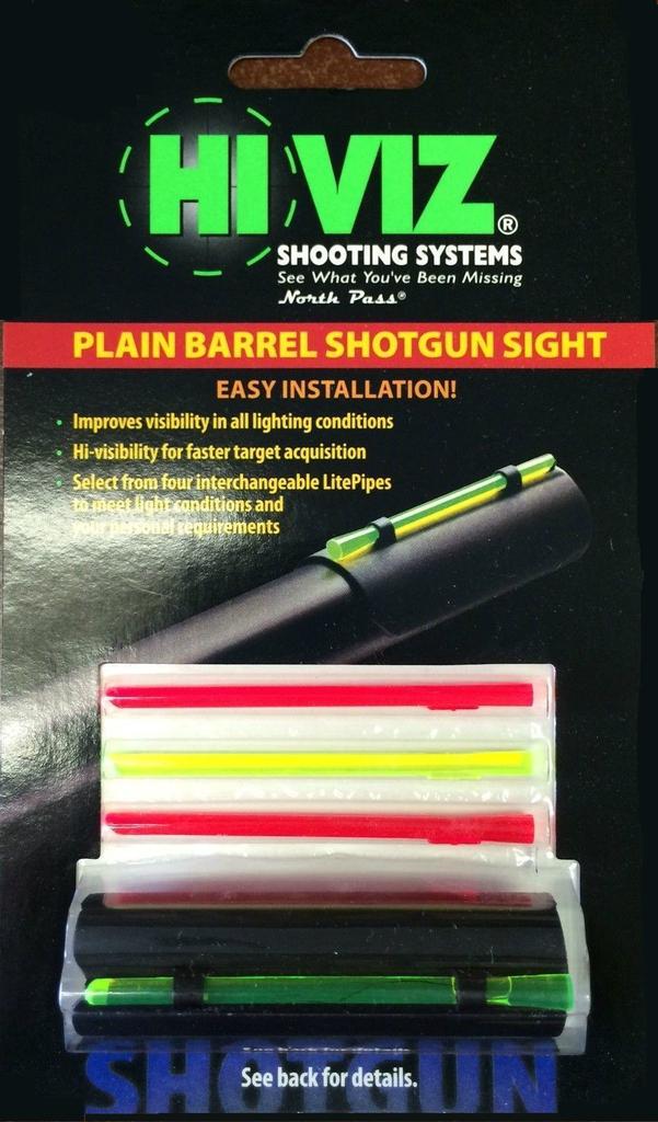 HiViz MPB Sight 12,16 /& 20 Gauge MPB for plain barrel shotguns